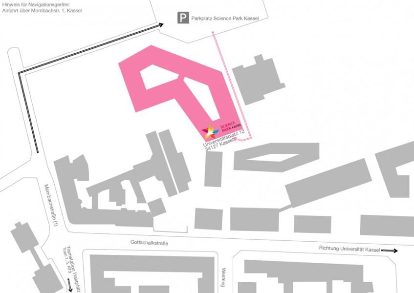 Anfahrtskizze_Science_Park_Kassel