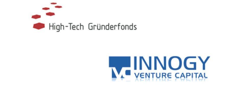 Logos of High-Tech Gründerfonds and Innogy Venture Capital