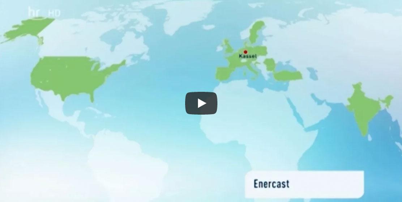 Standbild der HR hessenschau zeigt enercast-Märkte