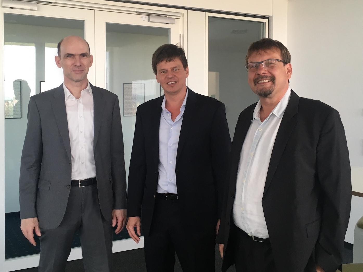 Henning Schulze-Lauen, Thorsten Boeckers und Bernd Kratz